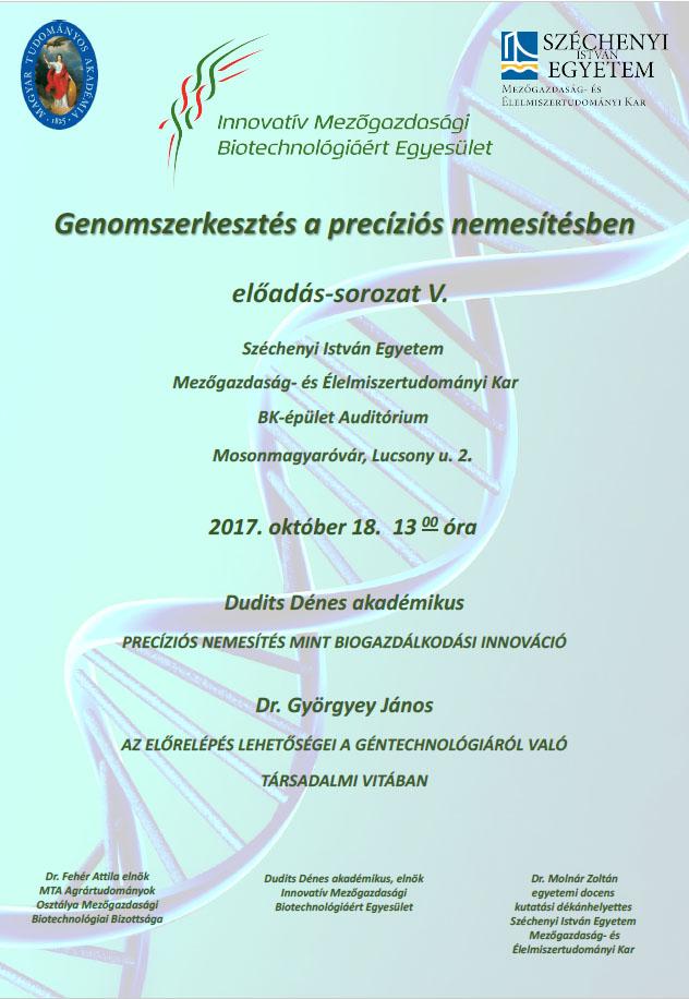 Genomszerkesztés a precíziós nemesítésben