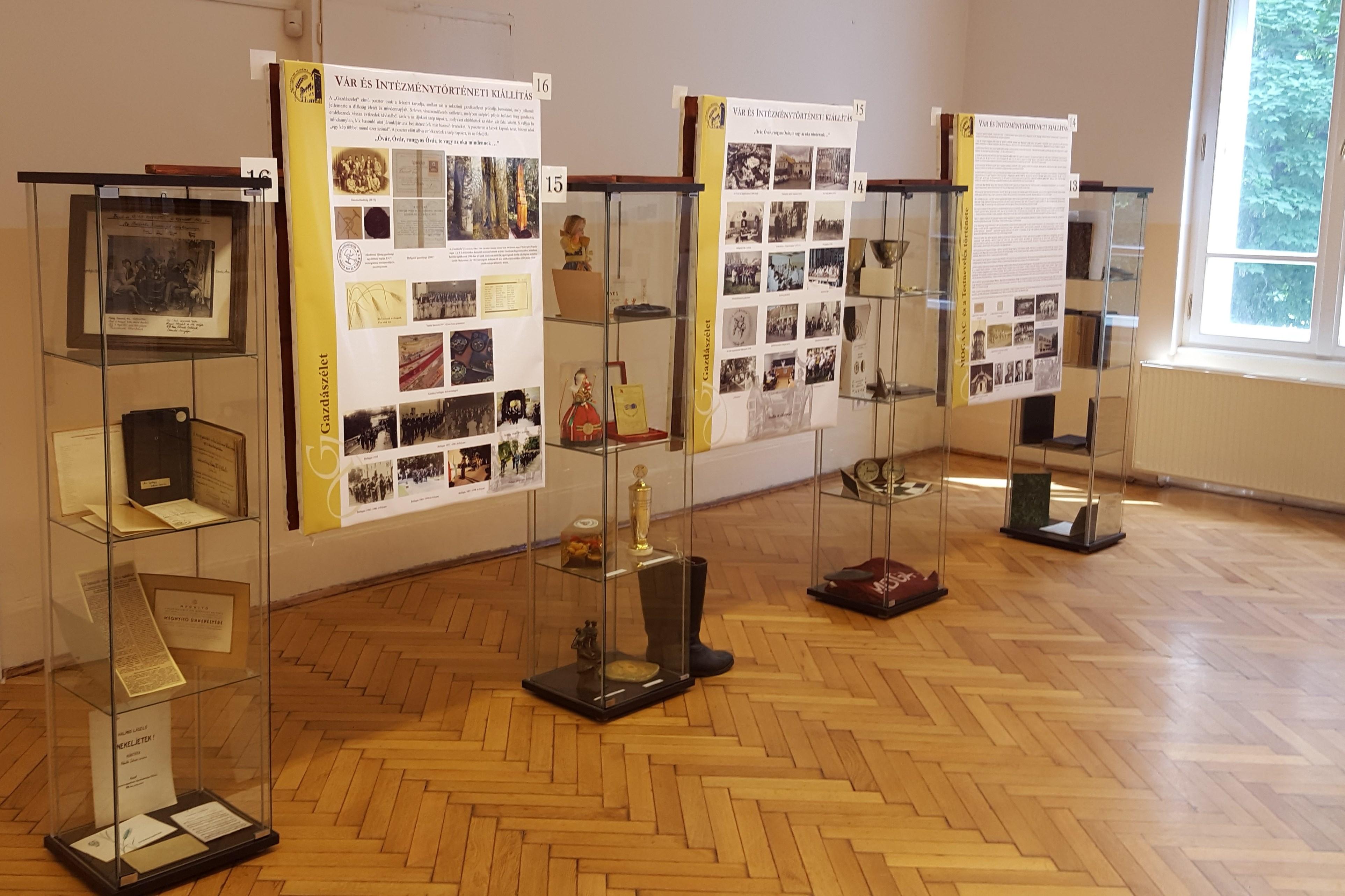 Vár és Intézménytörténeti Kiállítás