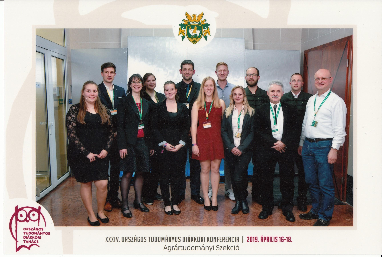 XXXIV. Országos Tudományos Diákköri Konferencia eredmények